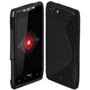 Motorola DROID RAZR Black Cimo S-Line Soft Case