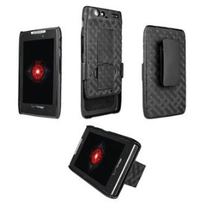 Motorola Droid RAZR Shell Holster with Kick-Stand
