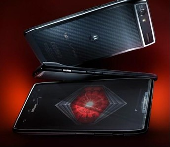 Droid Razr leaked  from Motorola site