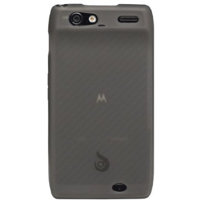 Motorola Droid Razr Diztronic Back Translucent TPU Case