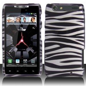 Motorola Droid RAZR Wild Zebra Protective Case Cover
